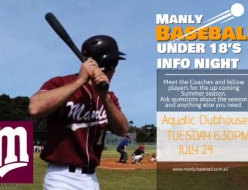 Information night for Manly U18s