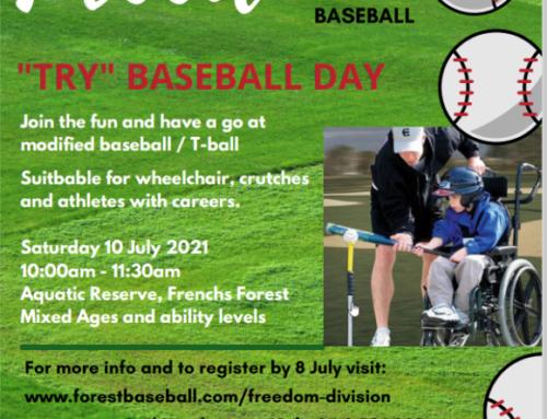 Freedom Try Baseball Day!